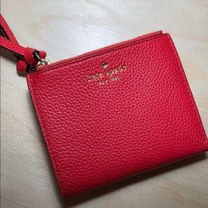 NWT Kate Spade Malea Red Wallet
